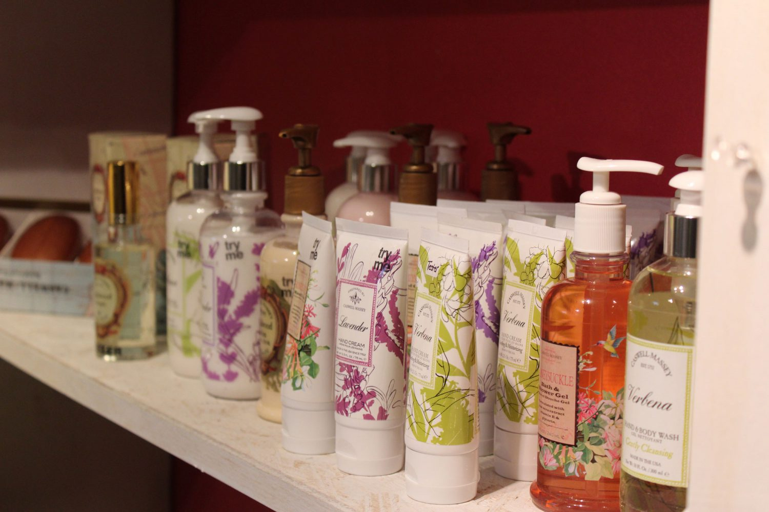 Body Sprays and Lotions